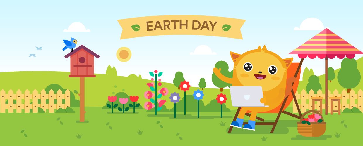 Earth Day Go Paperless Blog Post